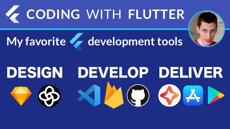 Design, Develop, Deliver: My Favorite Tools for Building Flutter Apps