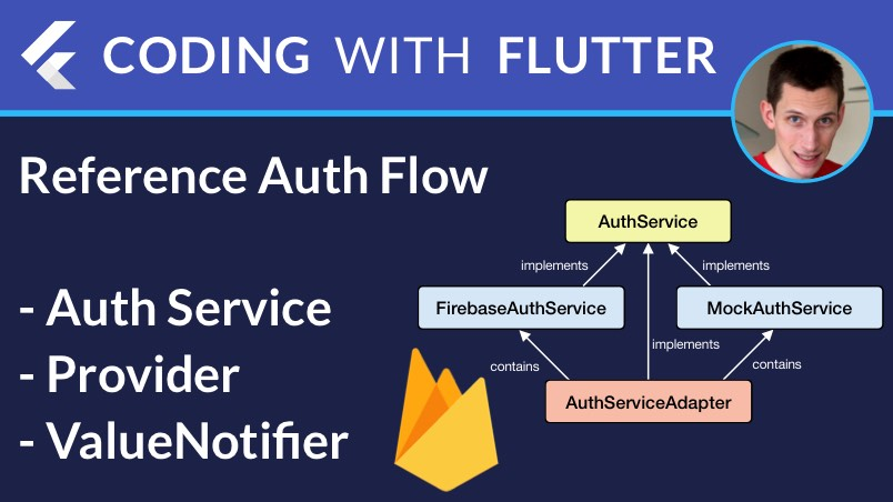 Flutter & Firebase: Authentication Service with Provider & ValueNotifier